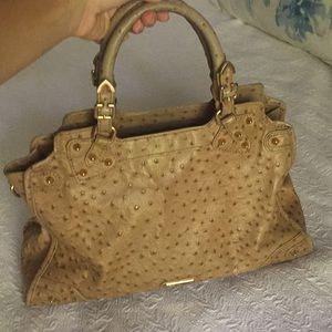 Rebecca minkoff ostrich purse